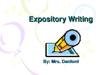 How to do a expository essay